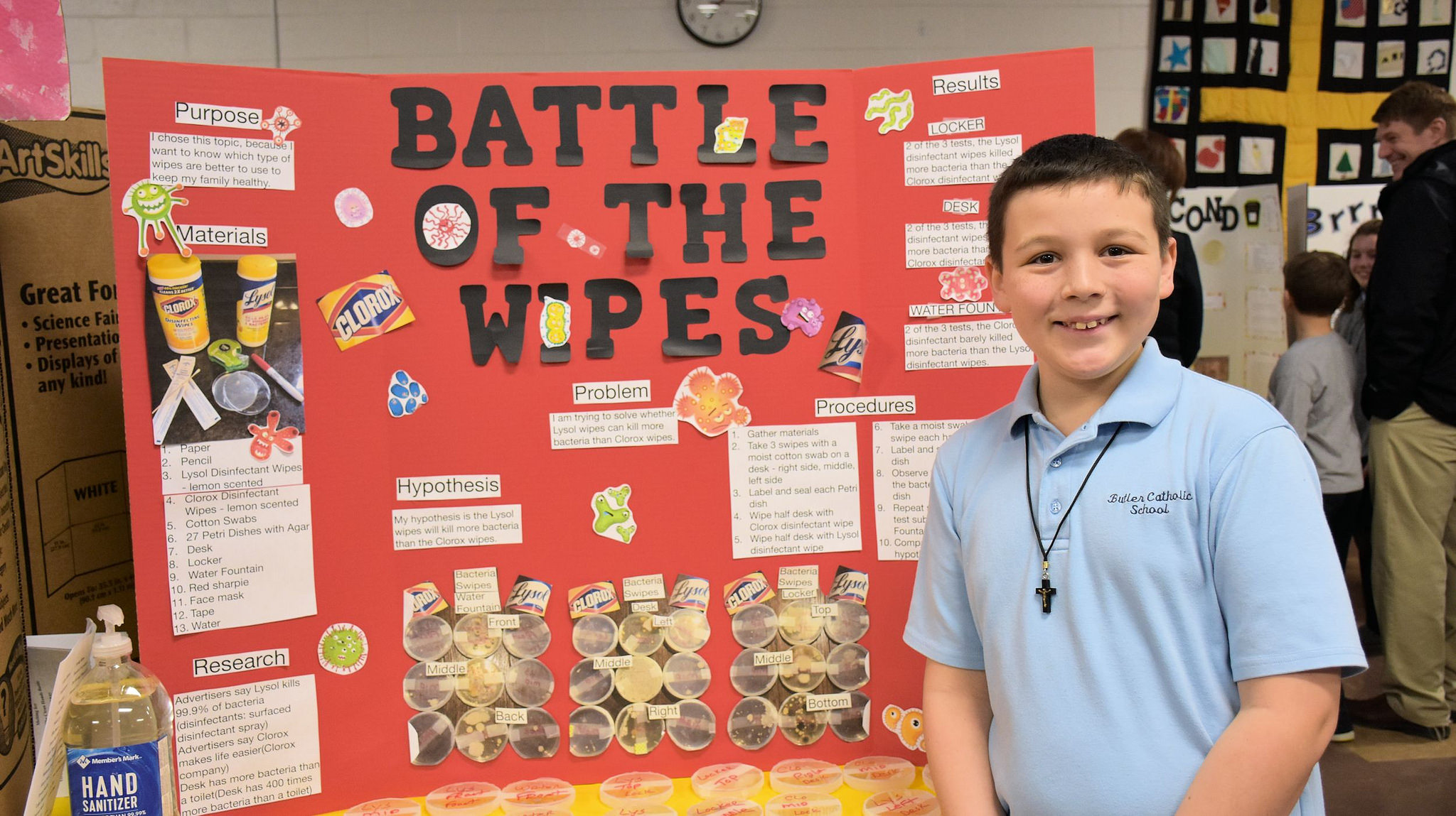 5th and 6th Grade Science Fair – Butler Catholic School